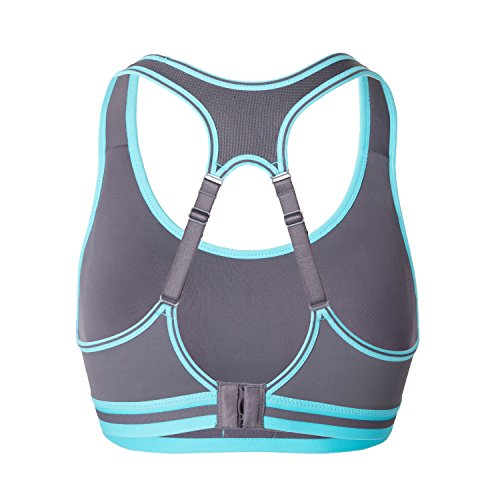 51fb74c65 SYROKAN Women s Run Bra High Impact Sports Bra Quick Dry Max Support