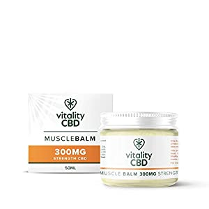 Vitality CBD Muscle Balm Natural 300mg of CBD, 50m...