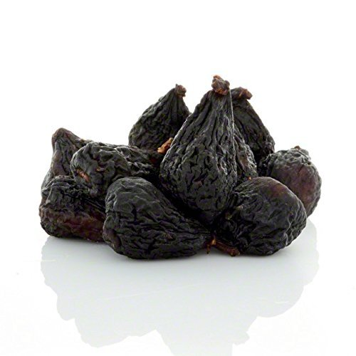 (Anna and Sarah Dried Black Mission Figs in Resealable Bag, 3 Lbs)