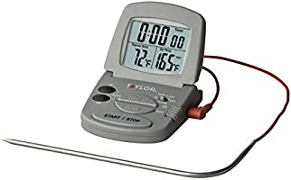 Taylor - Termómetro y temporizador digital para sonda de cocina