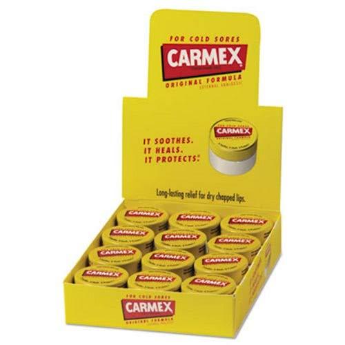 Carmex Moisturizing Lip Balm, Original Flavor, 0.25 oz Jar,
