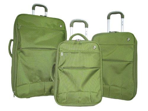 Heys Wheeled Luggage - Heys Luggage Fuse X3 Luggage Set, Green, One Size