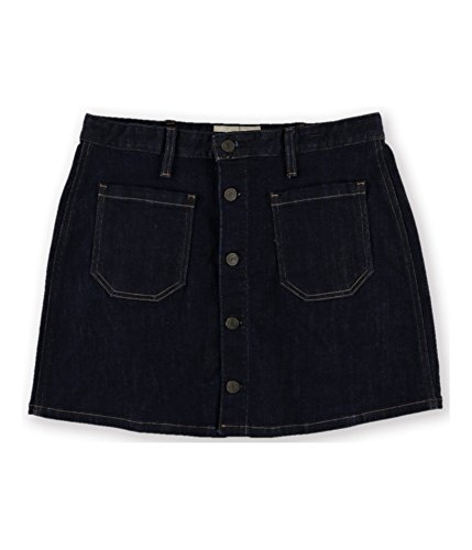 Denim & Supply Ralph Lauren Womens Dark Wash Denim Mini Skirt Navy 29 -