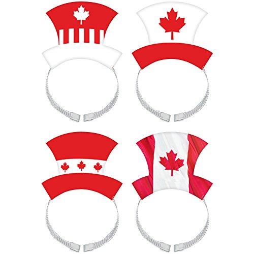 Canada Day Headband  8Ct