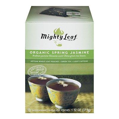 Mightly Leaf Tea Spring Jasmine Green Tea 15 Bag (Pack of 6) Mightly Leaf Tea