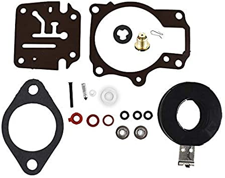 Carb Repair Kit for Johnson//Evinrude Carburetor 396701 20//25//28//30//40//45//48//50