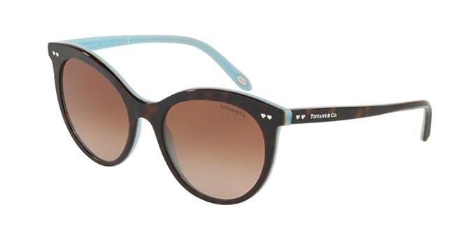 Tiffany Damen Sonnenbrille 0TY4126B 81343B, Braun (Havana/Browngradient), 57