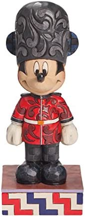 Enesco Disney Traditions by Jim Shore Mickey in England Figurine, 6.5 in