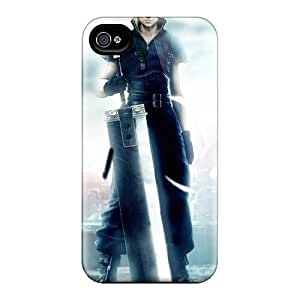 Hot WFjHGln1705bAWQT Final Fantasy Boy PC Case Cover Compatible With Iphone 4/4s