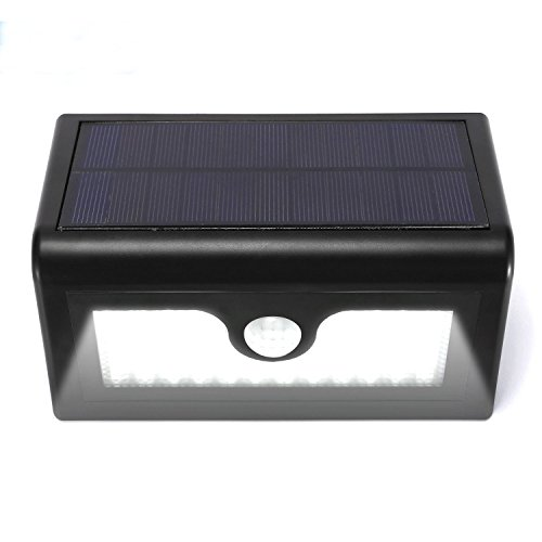 50 LED Outdoor Motion Sensor Solar Lights for Driveway Ponds Accent Lighting Decor Lamp with 3 Intelligent modes