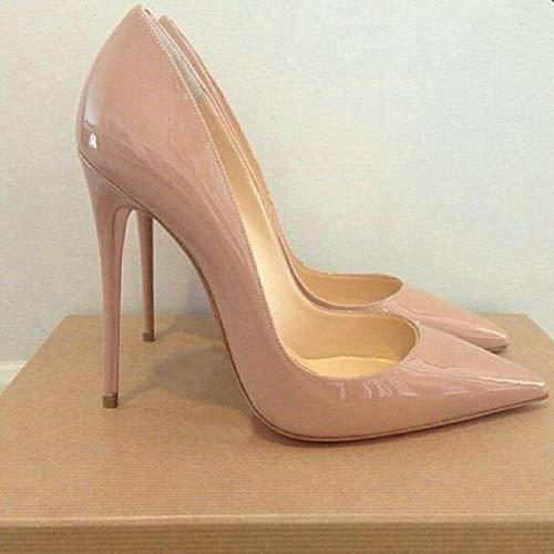 Tacchi Rosse Bianche Stiletti Per On Nere Scarpe Da Alti Basic Punta Sposa Feste Tacco Donna A Pompe Rosa Pink Slip rBT1rq