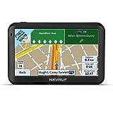 NAVRUF Car GPS Navigation Latest Maps,Spoken Turn- to-Turn Traffic Alert Vehicle GPS Navigation System, 5-inch 8GB with Sun Visor& Free Lifetime Traffic