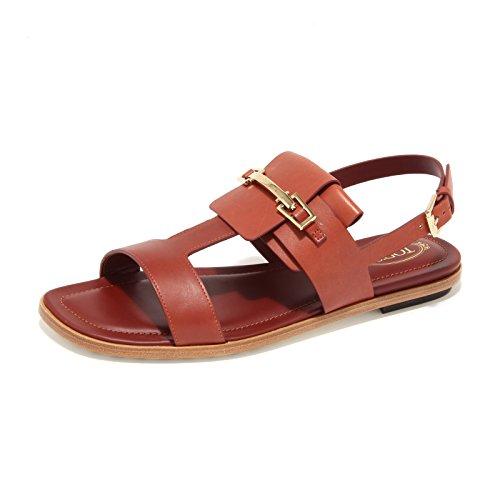 Mattone women mattone donna sandali scarpe cuoio shoes TOD'S sandals gomma 8008L 1n7gOznW
