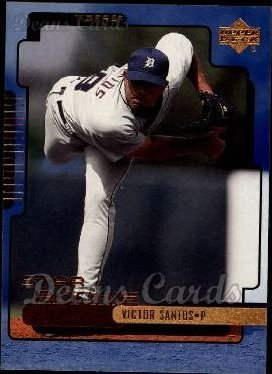 2000 Upper Deck # 286 Victor Santos Detroit Tigers (Baseball Card) Dean's Cards 8 - NM/MT Tigers