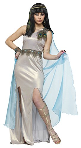 Funworld Womens Jewel Of The Nile Cleopatra Egyptian Fancy Halloween Costume, S (4-6) (Jewel Of The Nile Costume)