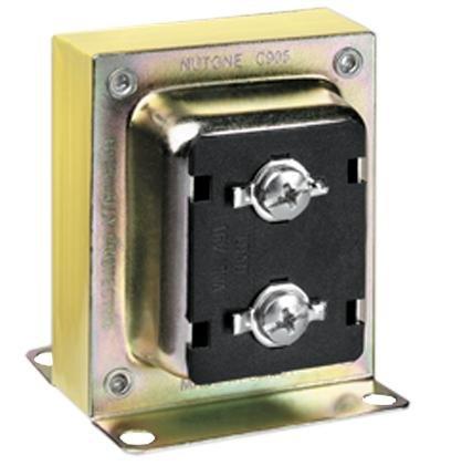 Broan C905 Transformer, Doorbell, Signaling, 16V, 10VA, Single Chime