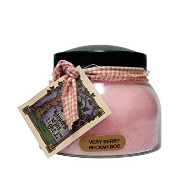 A Cheerful Giver A Berry Beckah Boo 22 oz. Mama Jar Candle, 22oz - Holds 22 ounces Burn time is 125 hours All of the candles are made with quality wicks and more fragrance to go above and beyond your expectations - living-room-decor, living-room, candles - 41RZy0A8XtL. SS400  -