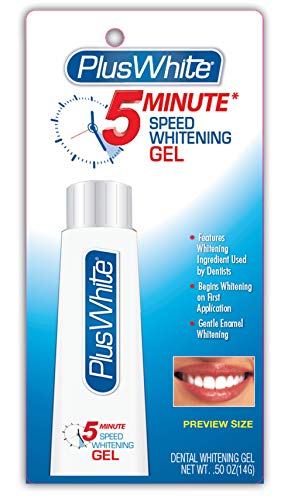 Plus White 5 Minute Premier Speed Whitening Gel, 0.50 Ounce (Plus White 5 Minute Speed Whitening Gel Review)