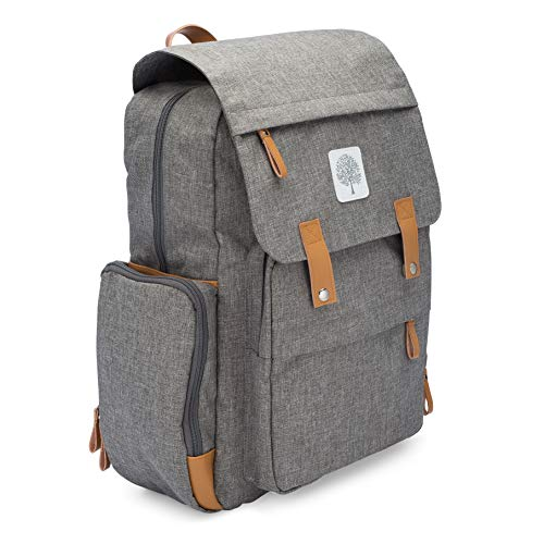 e3d9cc34319a Details about Parker Baby Diaper Backpack - Large Diaper Bag with Insulated  Pockets
