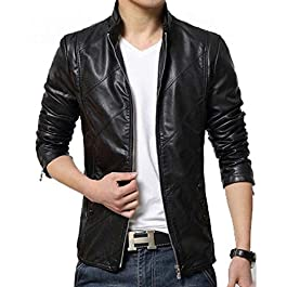 HugMe.fashion Genuine Leather Motorcycle Jacket JK54