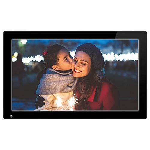 "Nixplay 18.5"" Wi-Fi Cloud Digital Photo Frame, Black (W18A)"