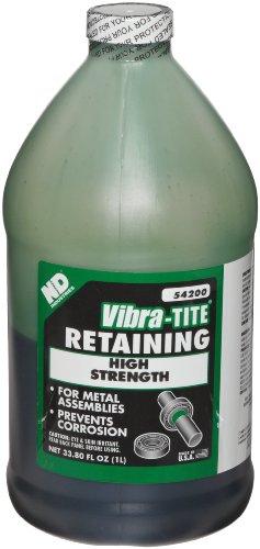 Vibra-TITE 542 High Strength Large Gap Anaerobic Retaining Compound, 1 liter Jug, Green by Vibra-TITE