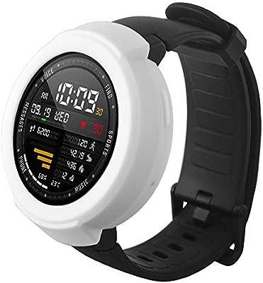 Amazfit Verge Protector, Zolimx Suave TPU Protección de Silicona Caso Completo Cubierta para Huami Amazfit Verge Smartwatch