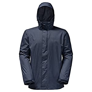 Jack Wolfskin Men's Beerenberg Sky Jacket, Night Blue, Medium