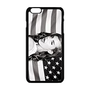 Happy American Girl Fashion Comstom Plastic case cover For Iphone 6 Plus