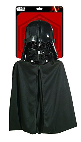 [Rubies Star Wars Darth Vader Cape and Mask Set] (Darth Vader Costumes Boys)