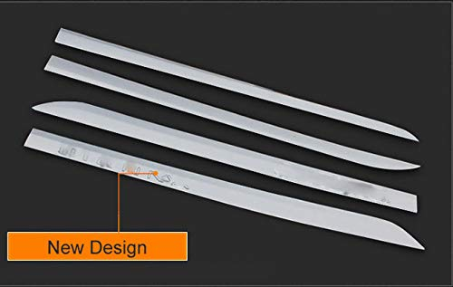 Kaitian 4pcs ABS Chrome Car Body Side Moulding Trim Overlay Cover Trim Molding Trim Molding Strip Decorative Emblems for Toyota Sienna 2011 2012 2013 2014 2015 2016 2017 2018 2019