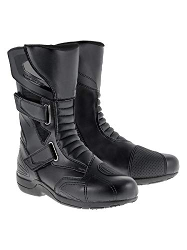aterproof Men's Street Motorcycle Boots (Black, EU Size 45) ()
