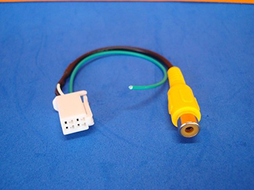 41Ra%2BPiNQhL amazon com 4 pin radio back up rear view video camera rca input eclipse avn726e wiring harness at n-0.co