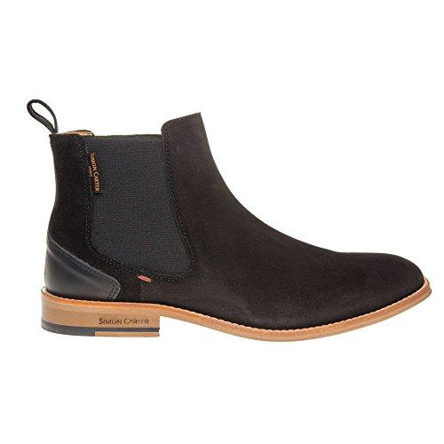 Simon Carter Elgar Homme Boots Noir
