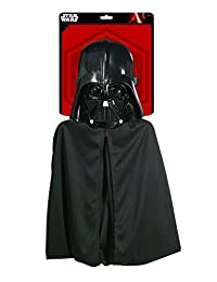Rubies Costume Co Star Wars Darth Vader Cape and Mask Set