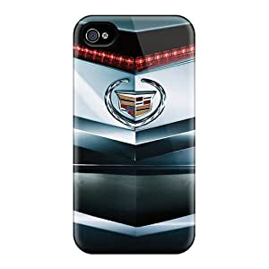 DannyLCHEUNG Iphone 4/4s Bumper Hard Cell-phone Case Support Personal Customs Beautiful Cadillac Cts Coupe Pattern [nRW9884nYJc]