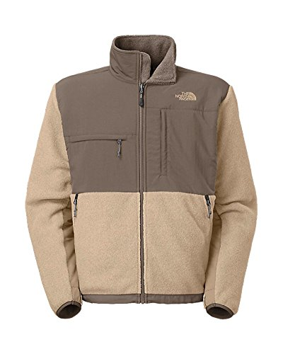 The North Face Denali Jacket - Mens (Small, R. Dune Beige Heather/Weimaraner Brown)