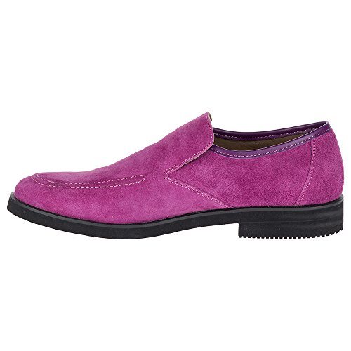 Hush Puppies Mens Bracco Mt Slip On In Scamosciato Viola
