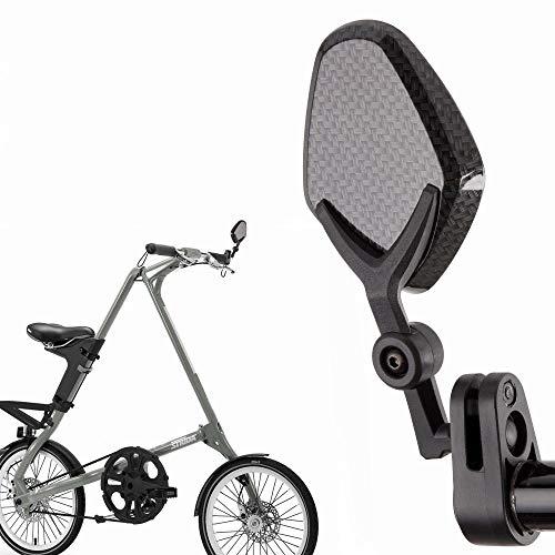 KiWAV Magazi bar end mirrors Petal carbon for bicycle handlebar 7/8