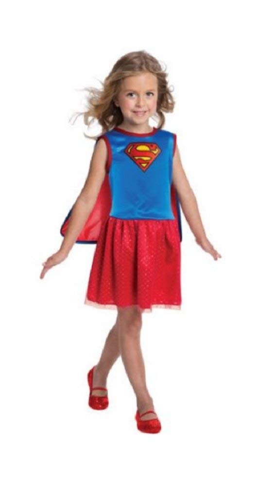 - 41Ra0tp1YCL - Rubie's 887577 Supergirl Child Costume Small