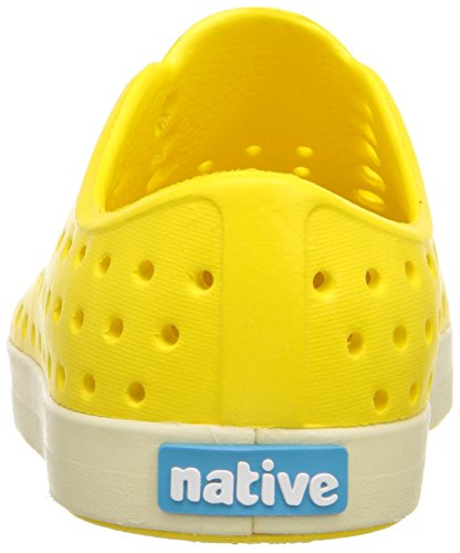 Native Shoes Jefferson Child 12/13-100100 Kinder Slipper gelb (crayon yellow/bone white)