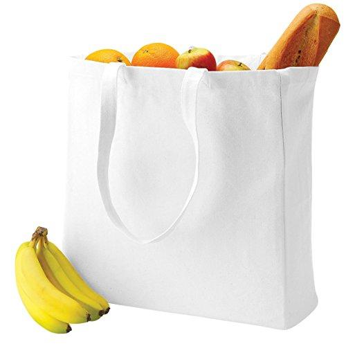 Classic white Canvas Quadra Off Shopper qpTSXUw