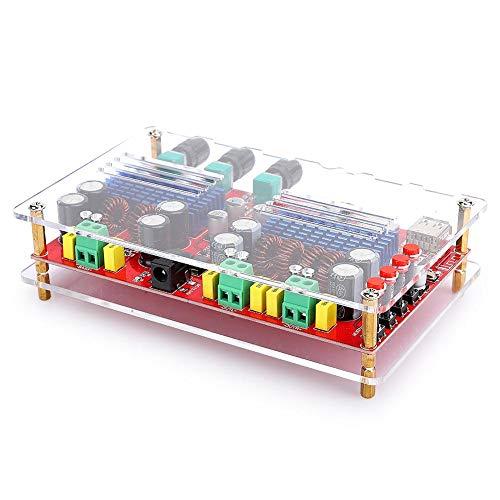 Bluetooth 2.1 Digitale Eindversterker Board, High-power TPA3116D2 Links Rechts Geluidskanaal Uitgang 60 W Bas 100 W…