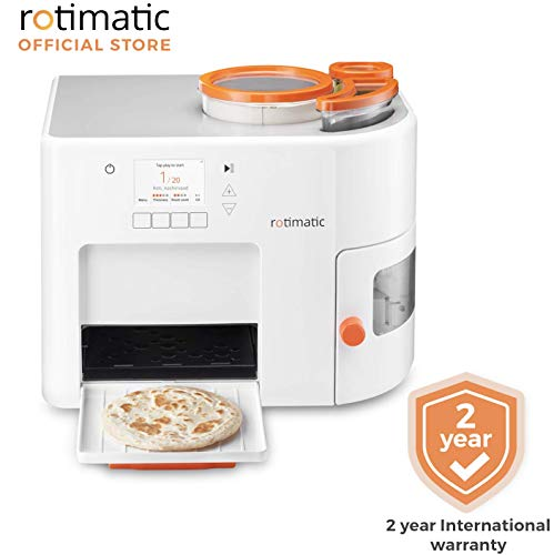 Rotimatic - Automatic Roti Maker Machine with 2 Years base warranty (Official Listing) (Flatbread Maker)