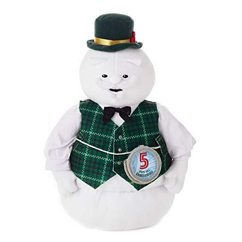 (HMK Hallmark Sam The Snowman Stuffed Interactive Countdown)