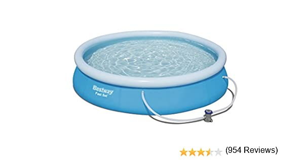 Bestway 57274 - Piscina Desmontable Autoportante Fast Set 366x76 ...