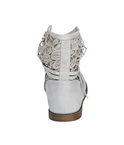 Justice Girls Crochet Shorty Slouch Boots 603 8