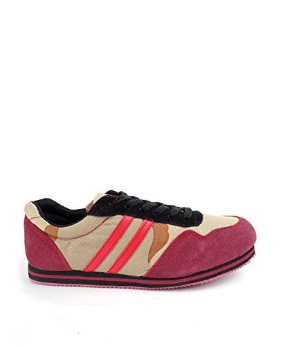 Herren Bordeaux Double Sneakers Red Camo pwvvqga
