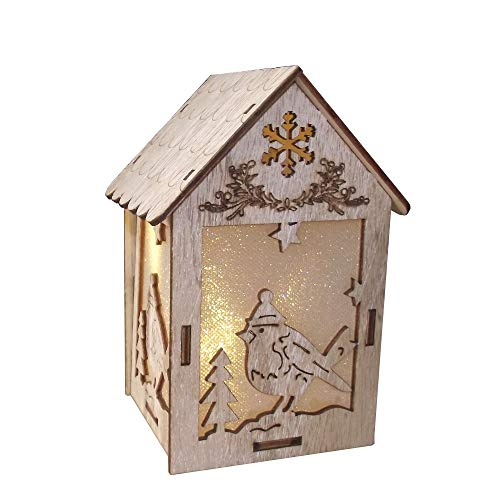 Spirit Rhyme Discover Christmas Tree Decorations Log Cabin Birds ()