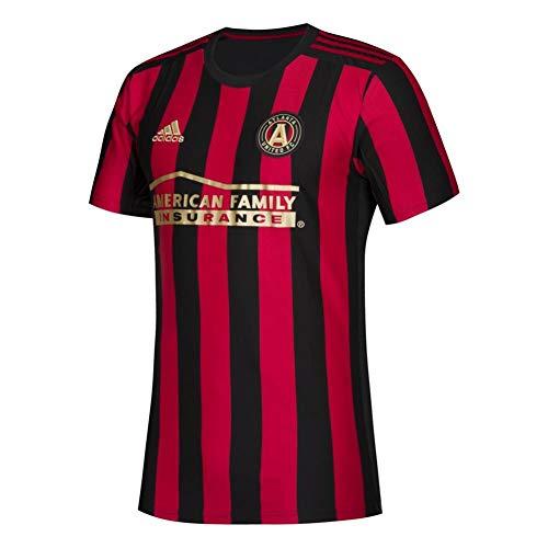 - adidas Atlanta United FC Replica Primary Jersey-Black/Red-L